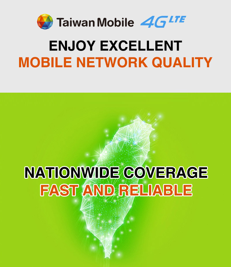 Taiwan Mobile 4G LTE: Internet Services |Prepaid Cards|Monthly Plans